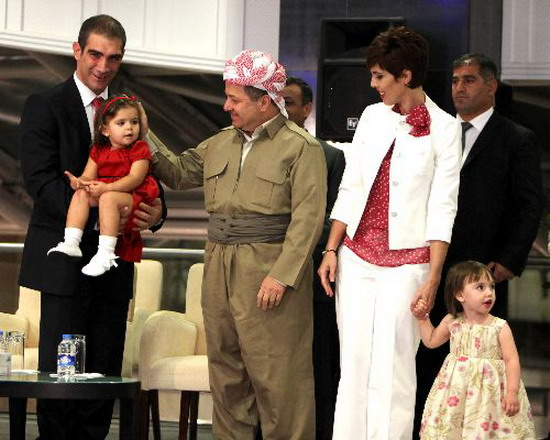 Barzani Family http://www.militaryphotos.net/forums/showthread.php?190826-Iraqi-Kurdish-leader-urges-self-determination