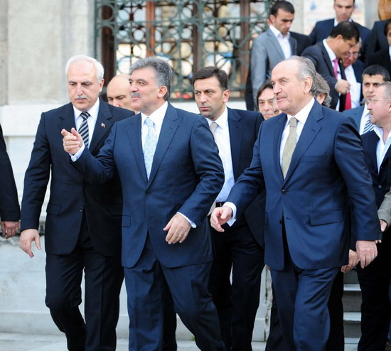 Abdullah Gül Dolmabahçede-resimleri