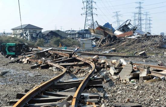 Japonyalılar deprem bölgesini terkediyor-resimleri