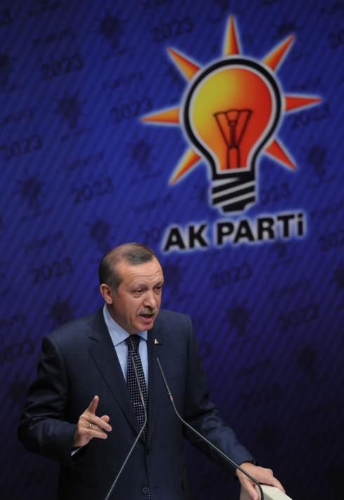 AK Parti seçim beyannamesini açıkladı-resimleri